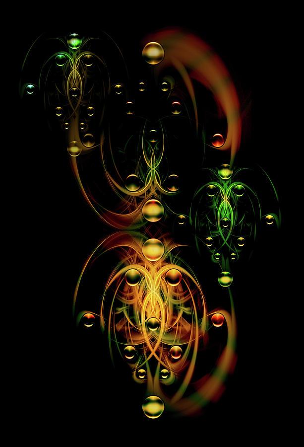 Digital Digital Art - Juggling Team by Andy Young
