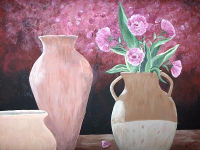 Jugs  Painting by Gloria Sheffield