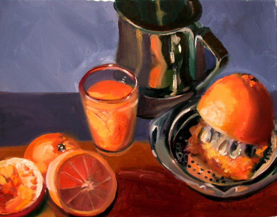 Still Life Painting - Juice by Anne McNally