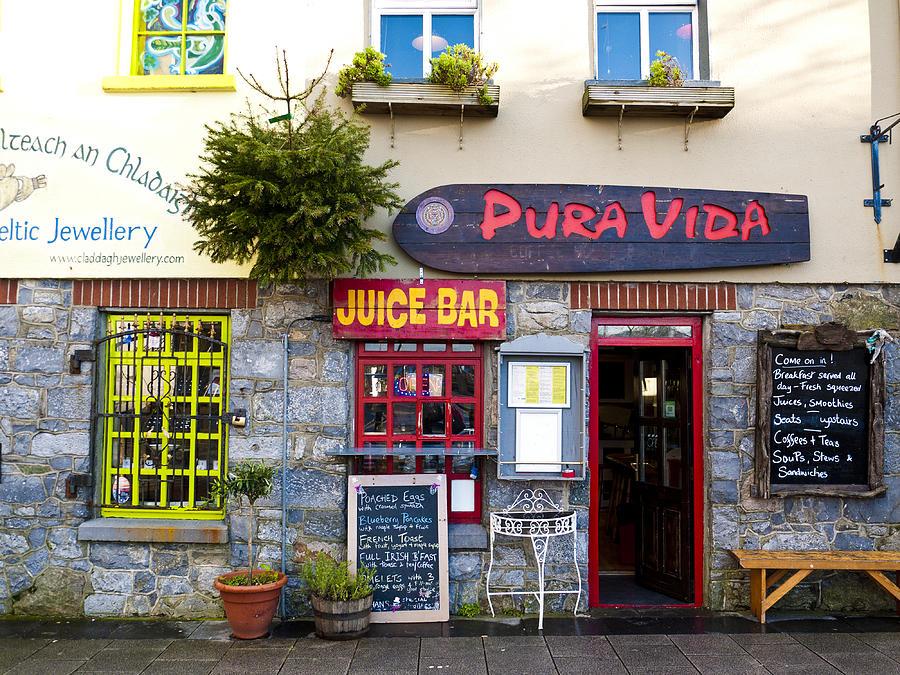 Juice Photograph - Juice Bar by Rae Tucker