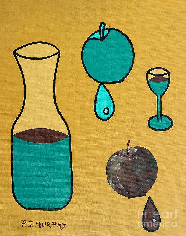 Juice Painting - Juice by Patrick J Murphy