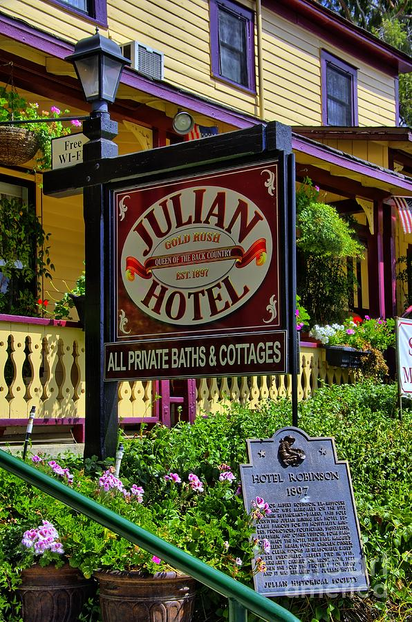Julian Gold Rush Hotel Bed and Breakfast by Alex Morales