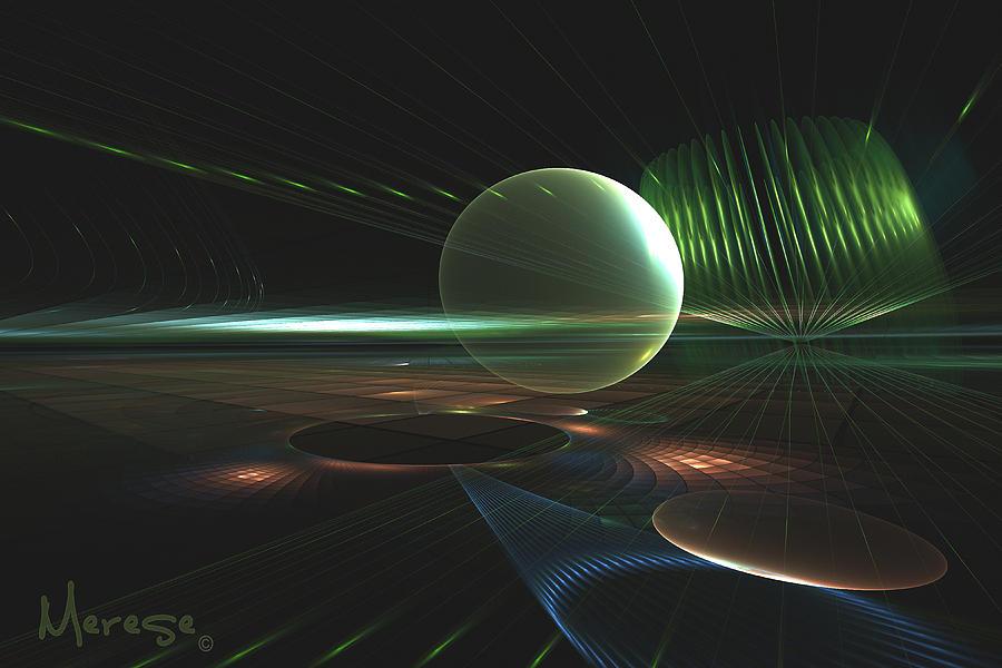 Julian Plains Digital Art by Jann Merese