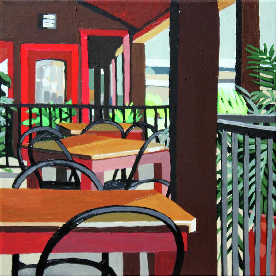 Dining Painting - Julios by Melinda Patrick