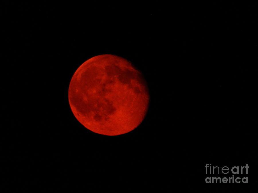 Moon Photograph - July Moon by J L Zarek