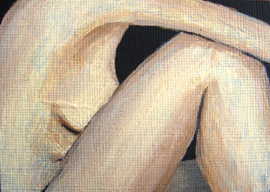 Nude Painting - July Nude by Deborah Rosier
