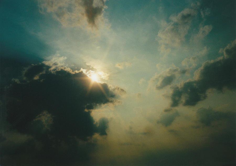 Sky Photograph - July Ohio Sky by Gene Linder