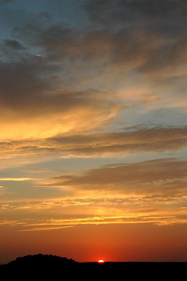 Sunset Photograph - July Sky by Robert Anschutz