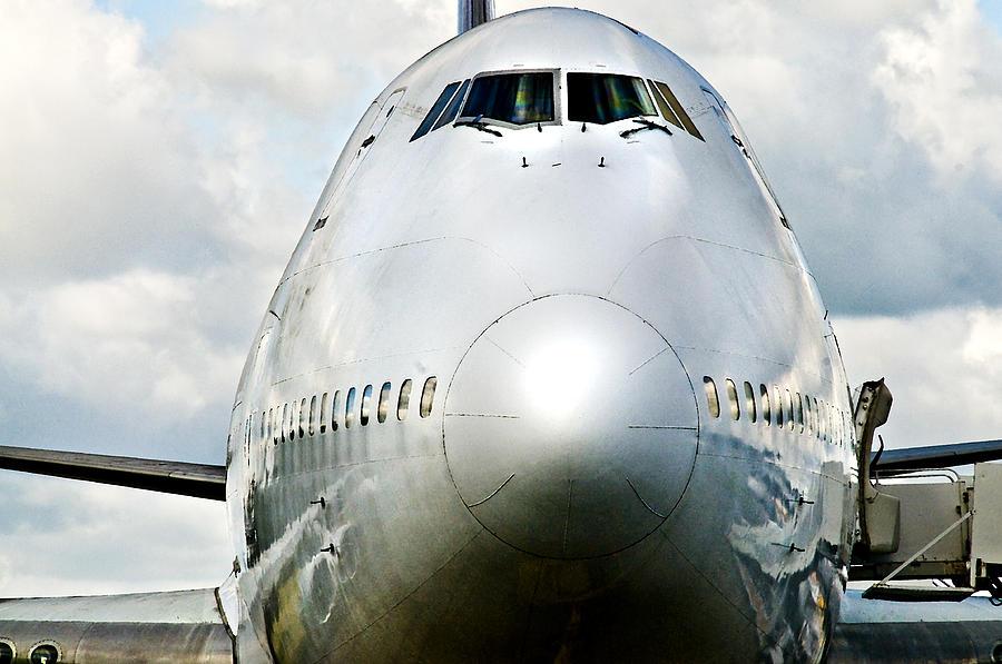 Plane Photograph - Jumbo by Daniela White