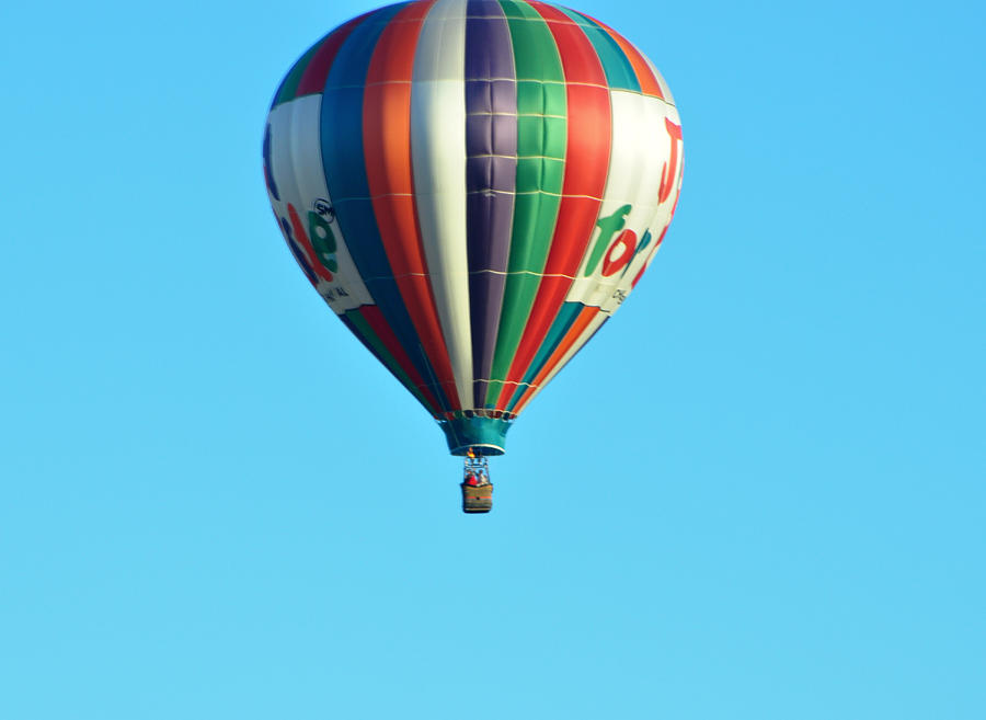 Hot Air Balloons Photograph - Jump For Joy by Jan Amiss Photography