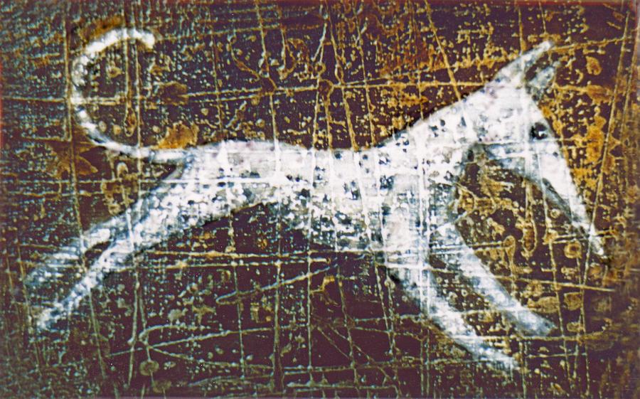 Dog Painting - Jumper by Lolita Bronzini