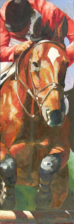 Horse Painting - Jumper by Mary McInnis