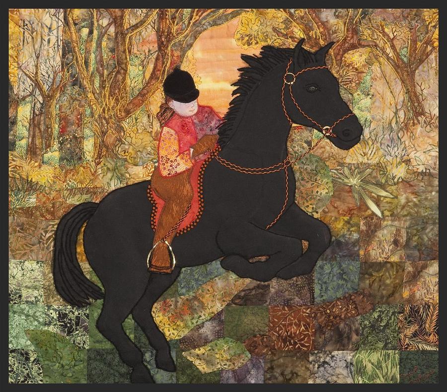 Jumping Horse by Carol Bridges