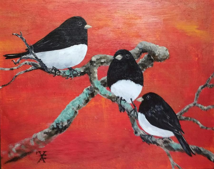 juncos by Violet Jaffe