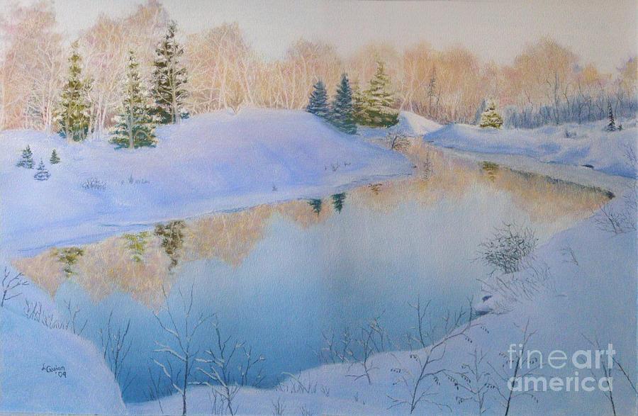 Landscape Painting - Junction Creek by Lynn Quinn