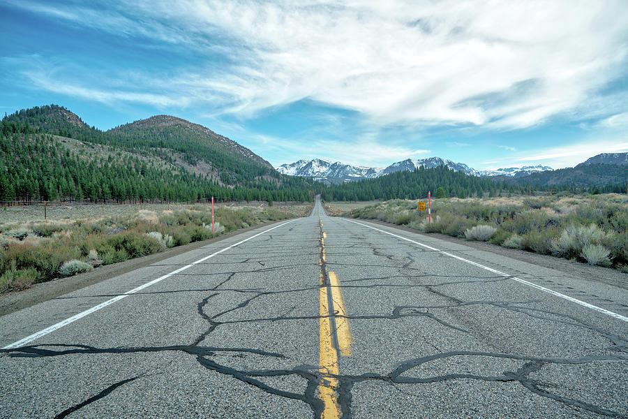 June Lake Loop Road Photograph