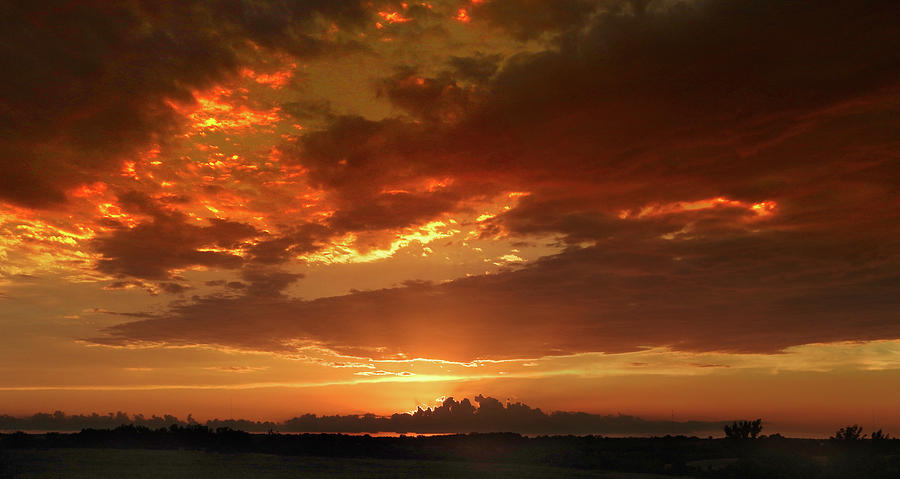 June Sunset by Rod Seel