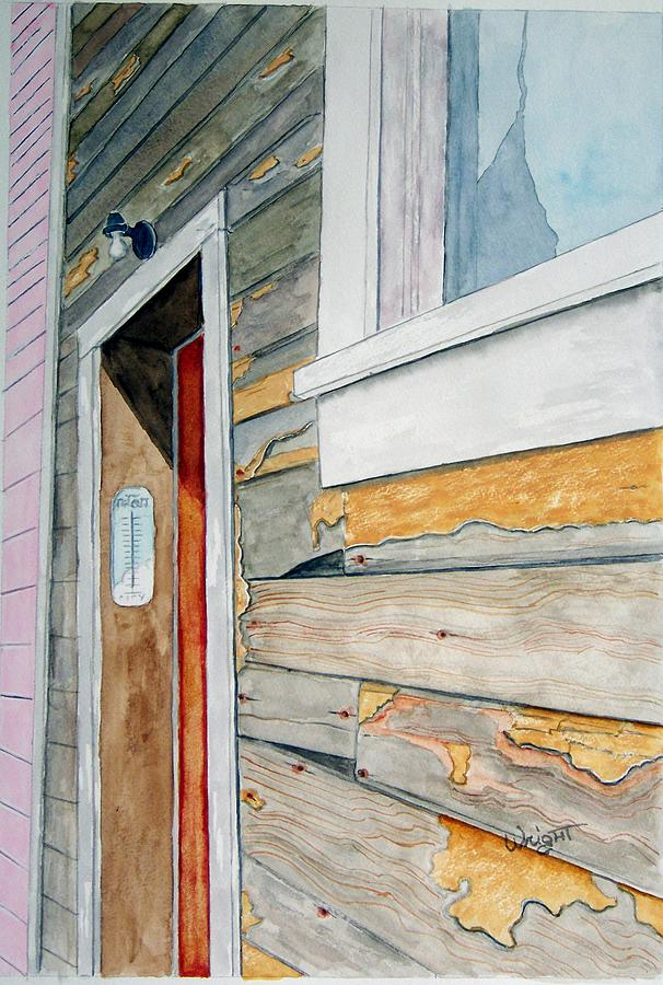 House Painting - Juneau Townhouse by Larry Wright
