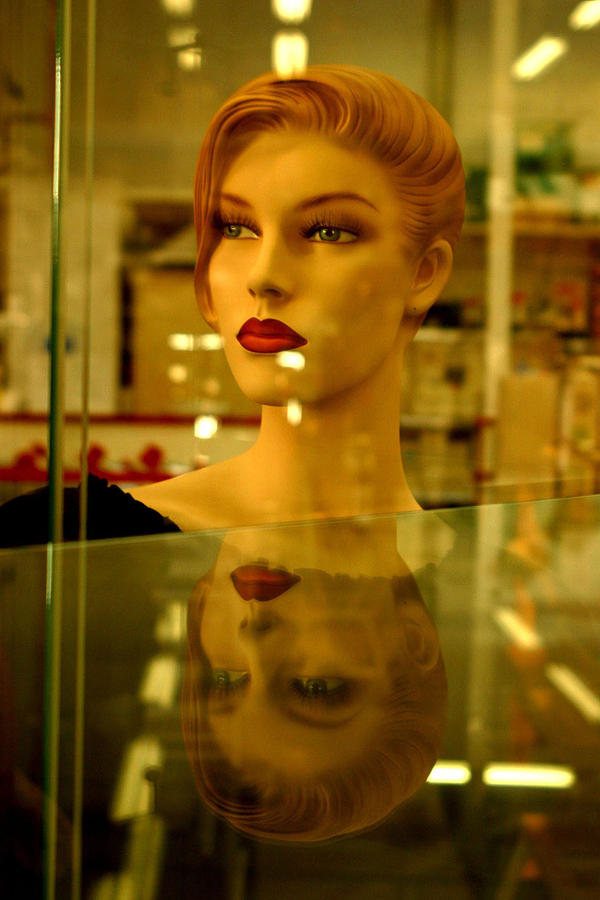 Photographer Photograph - Junetta In Reflective Mood by Jez C Self
