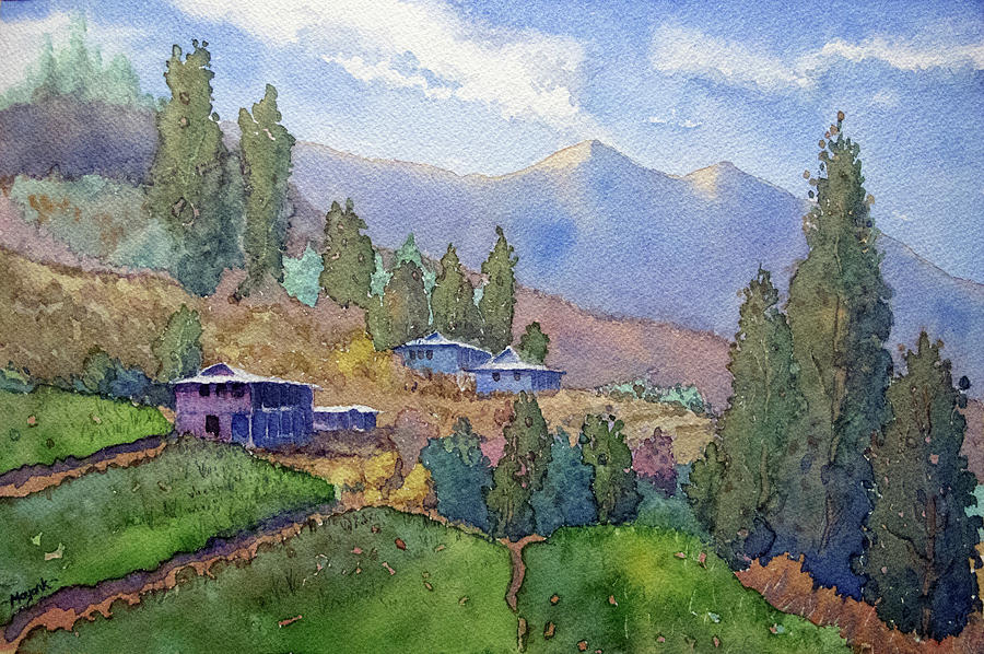 Junga Village by Mayank M M Reid