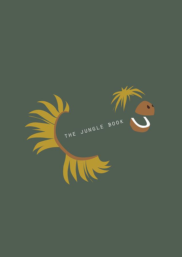 Jungle Book Digital Art - The Jungle Book - Alternative Movie Poster by Movie Boy