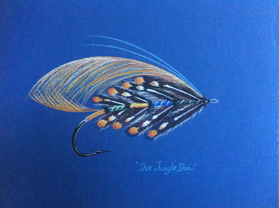 Fly Painting - Jungle Don by Janet Biondi