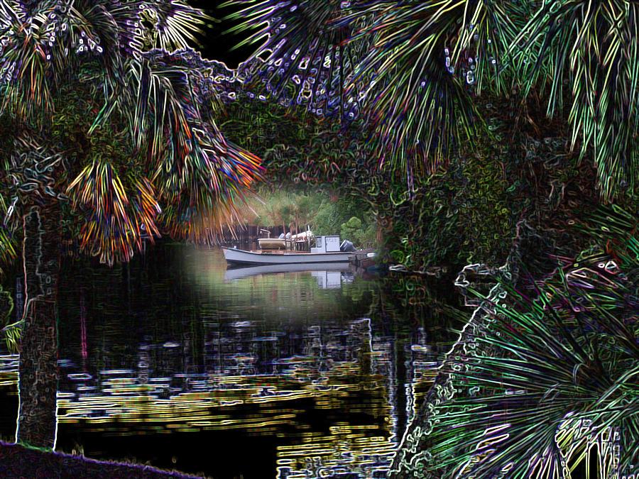 Boat Photograph - Jungle Glow by Rick McKinney