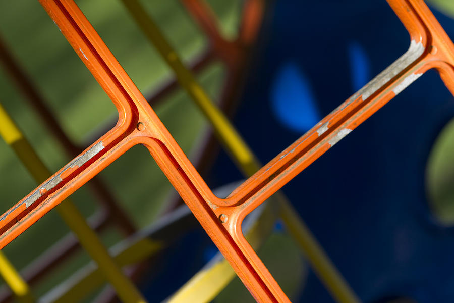 Abstract Photograph - Jungle Gym by Rebecca Cozart