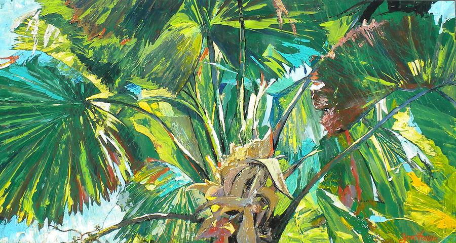 Jungle Painting - Jungle by Jan Farara