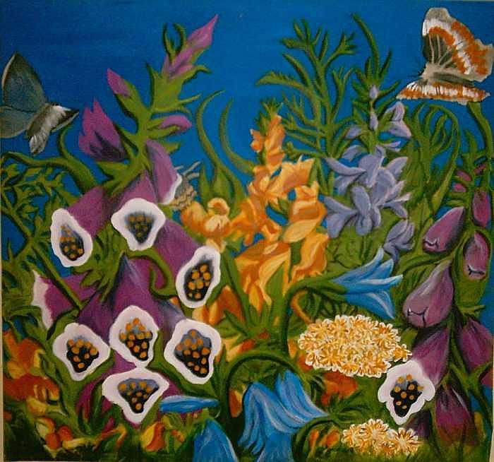Jungle Paradise Painting by Darnillious Von Neegro