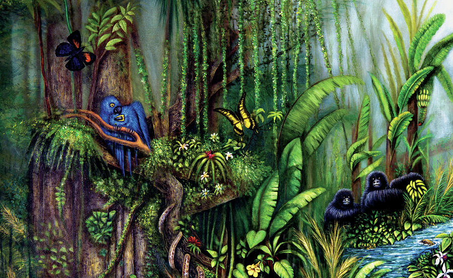 Jungle Talk by LYNN BUETTNER