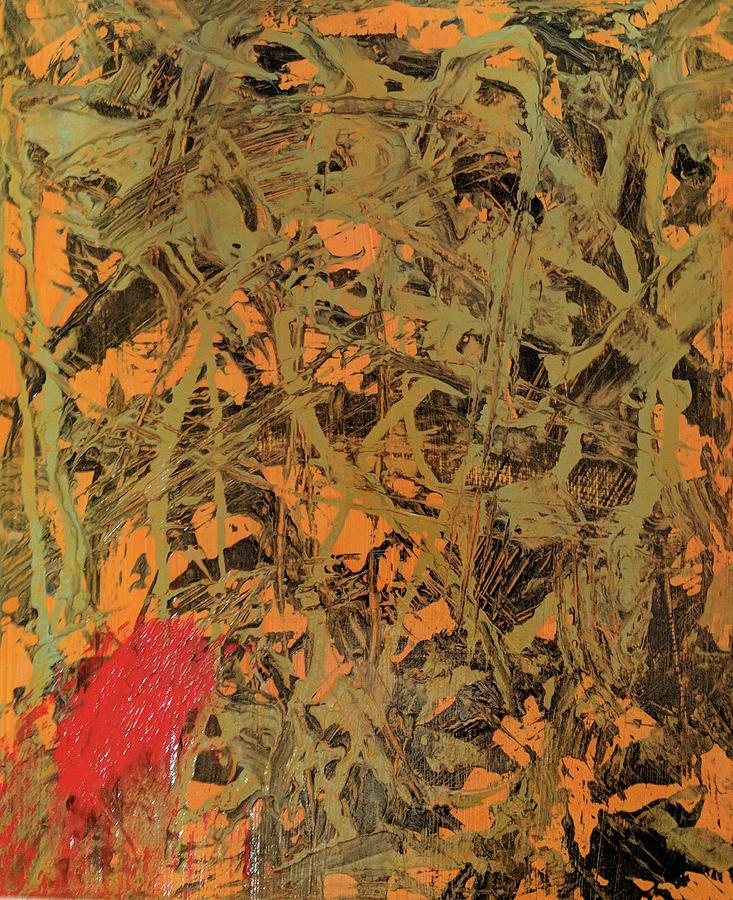 Jungle Painting by Trisha Pena