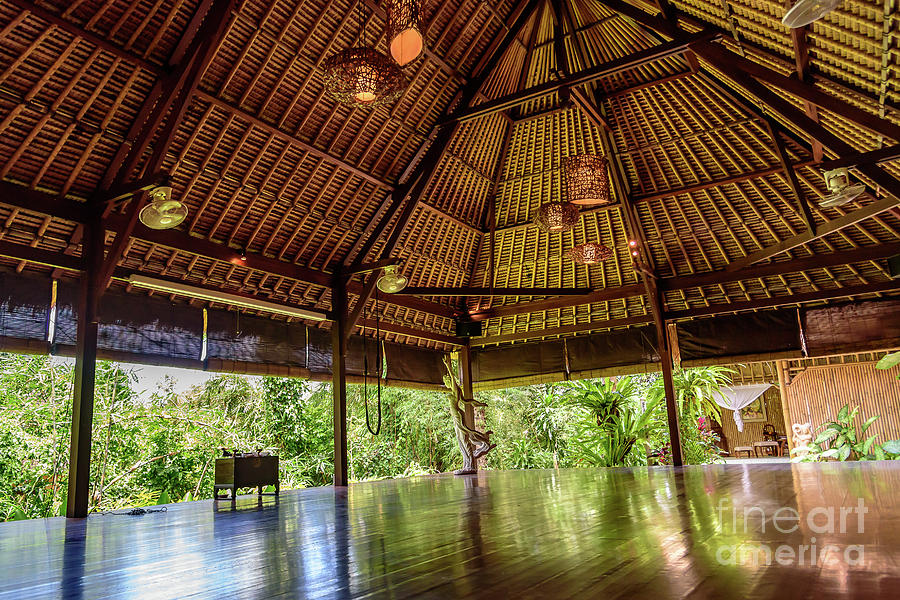 Jungle Yoga Shala at Yoga Retreat in Ubud, Bali by Global Light Photography - Nicole Leffer