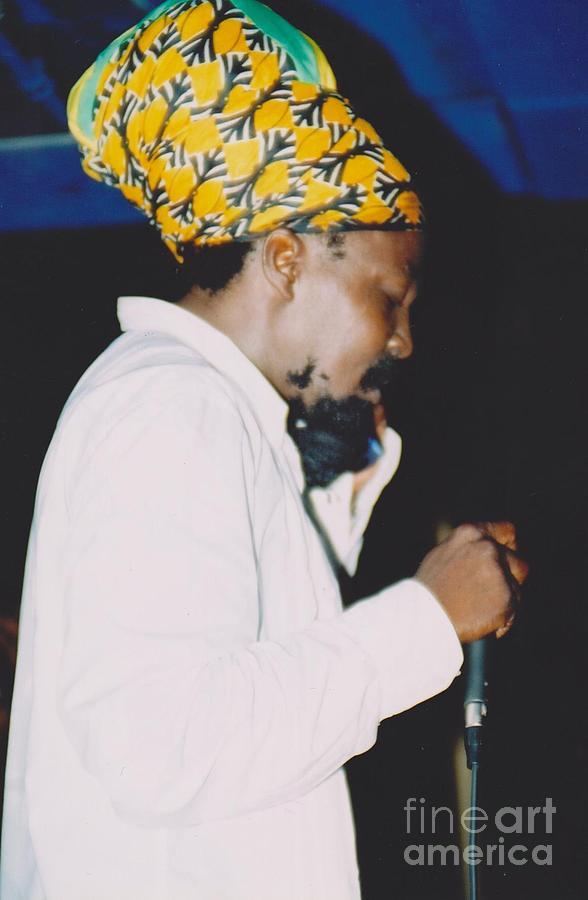 Black Uhuru Photograph - Junior Reid Black Uhuru Frontman by Mia Alexander