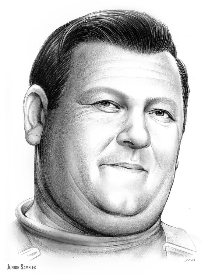 Comedy Drawing - Junior Samples by Greg Joens