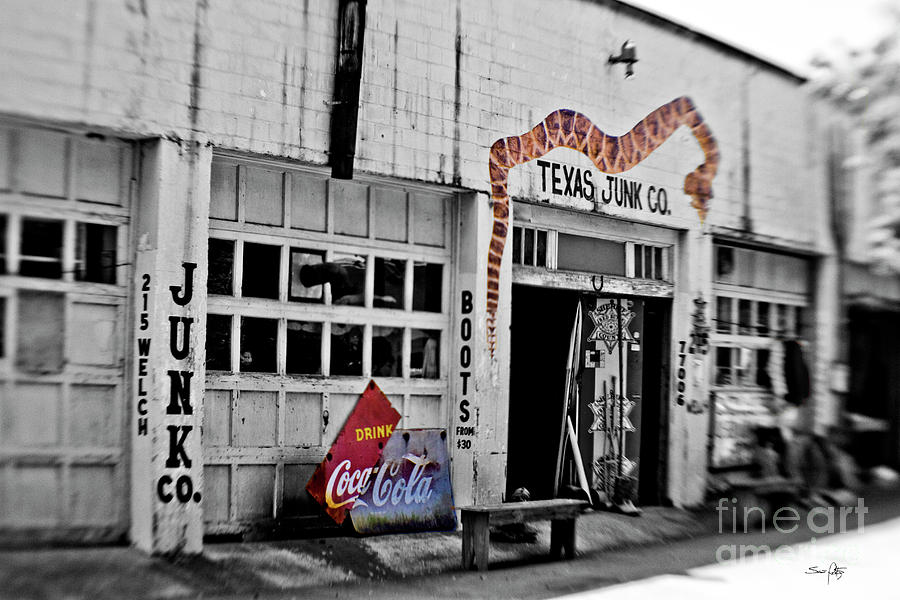 Junk Photograph - Junk Company by Scott Pellegrin