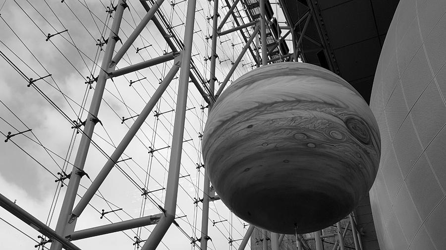 Jupiter B W Photograph