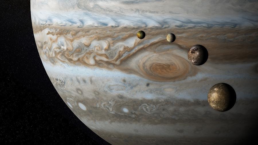 Jupiter Digital Art - Jupiter by Dorothy Binder
