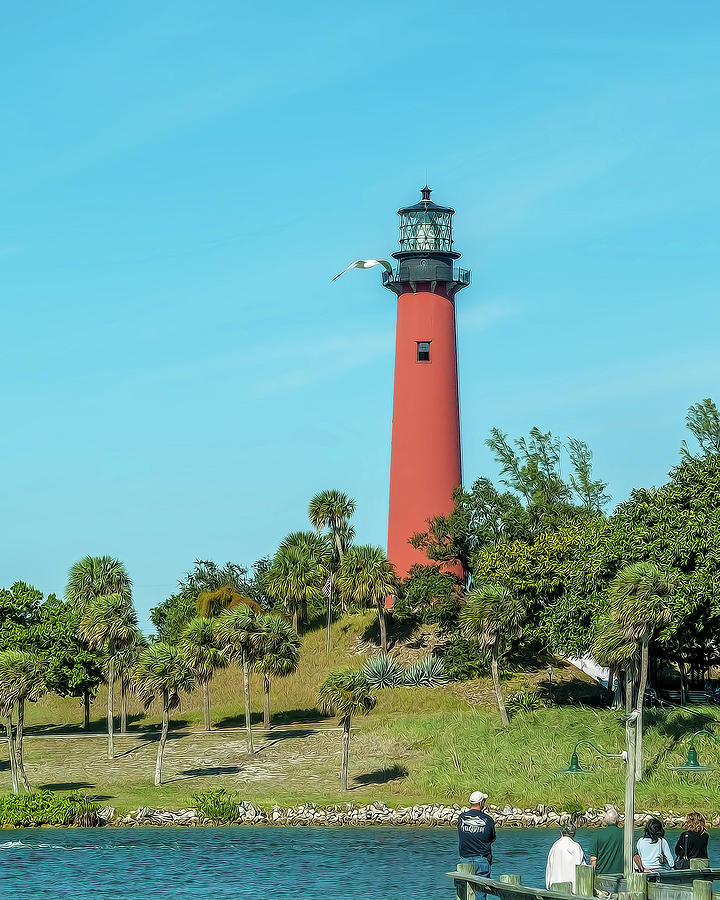 Jupiter, Florida  Light by Gordon Engebretson