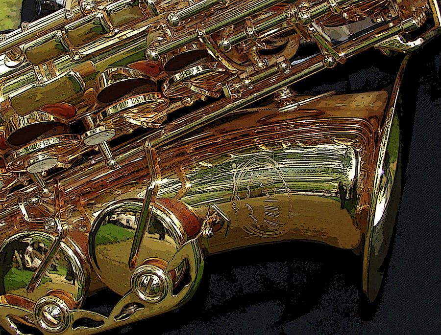 Sax Photograph - Jupiter Saxophone by Michelle Calkins