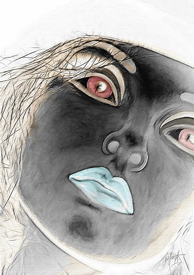 Woman Digital Art - Jupiters Dream by Holly Ethan