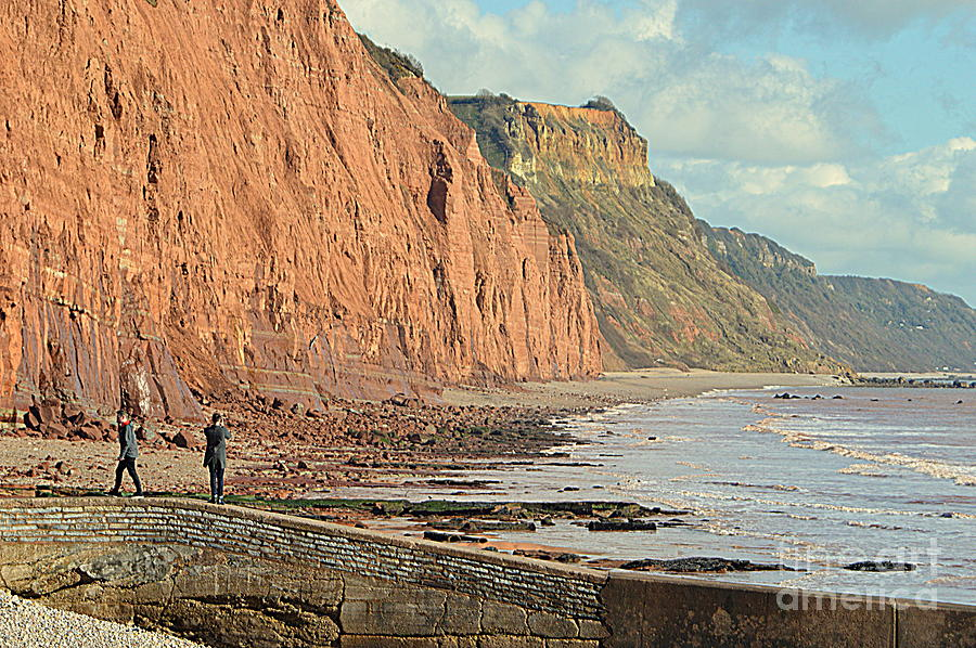 Cliffs Photograph - Jurassic Cliffs by Andy Thompson