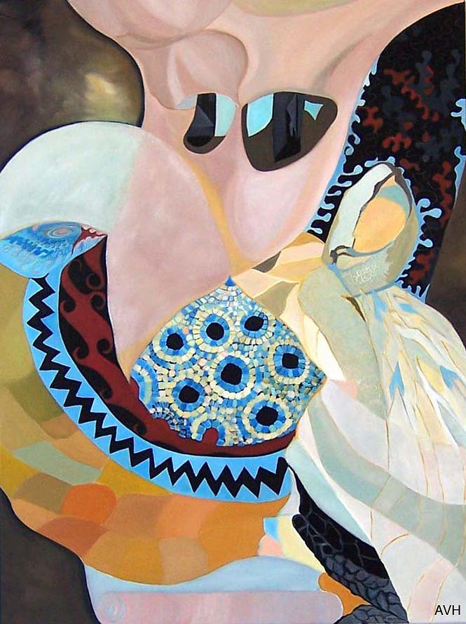 Jurney Painting by Antoaneta Melnikova- Hillman