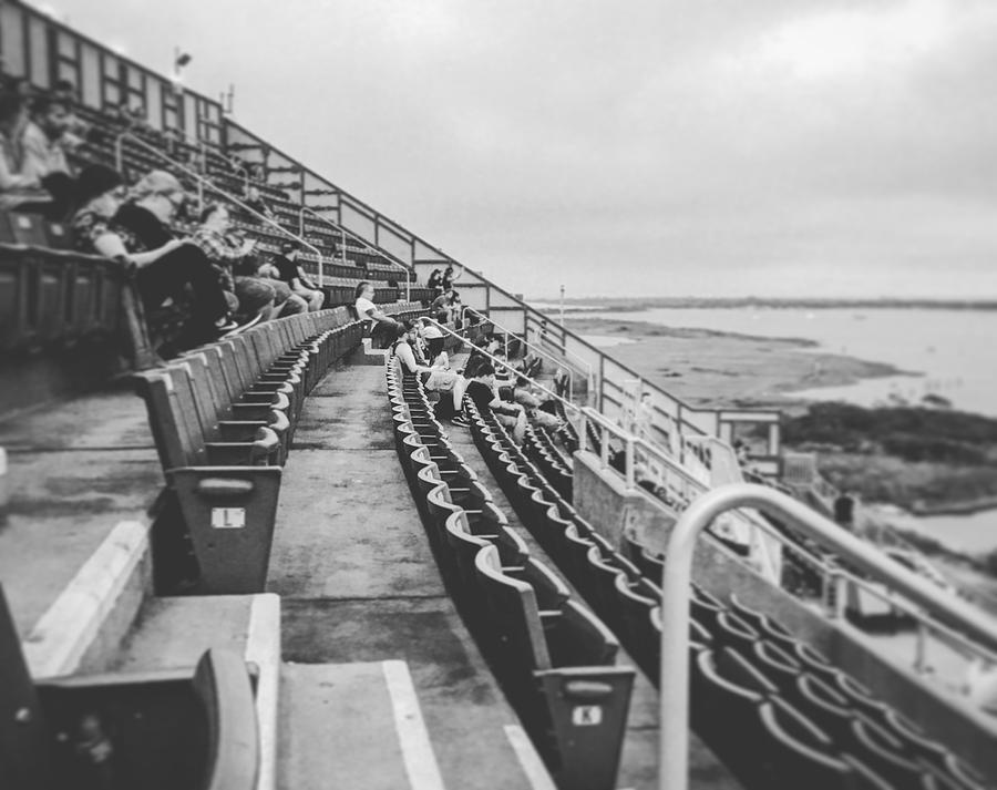 Concert Photograph - Just A Few Empty Seats by Joseph Mari