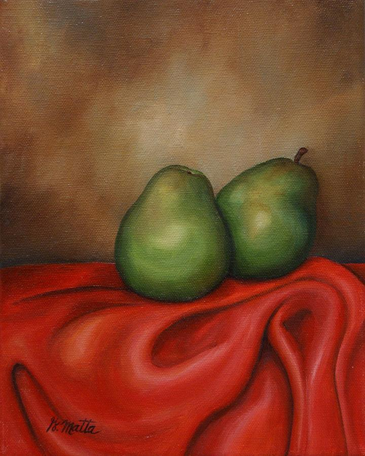 Still Life Painting - Just a Pair by Gretchen Matta