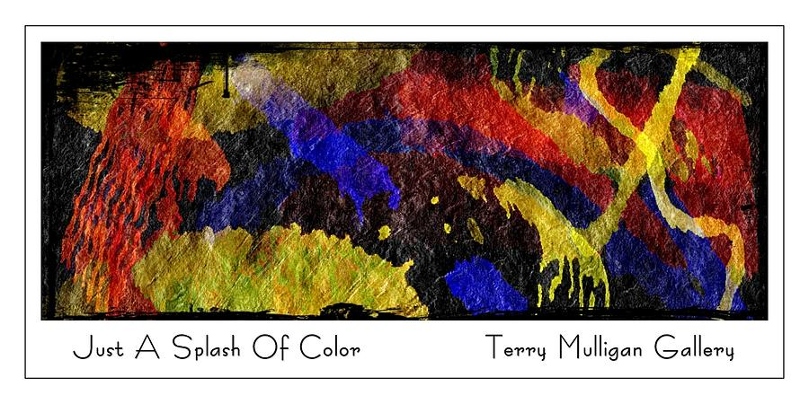 Just A Splash of Color by Terry Mulligan