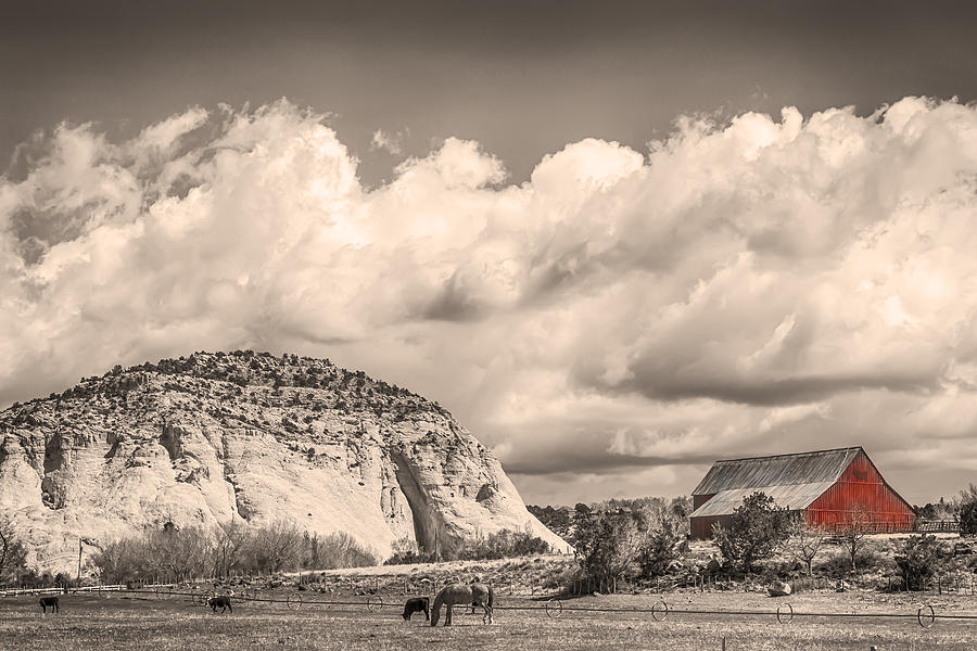 Just An Old Western Landscape Photograph