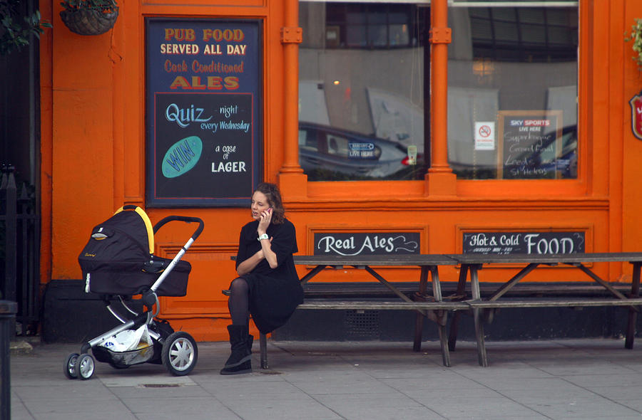 Photographer Photograph - Just An Orange Will Be Fine by Jez C Self