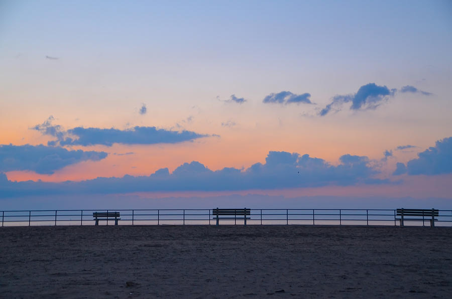 Just Photograph - Just Before Sunrise In Asbury Park by Bill Cannon