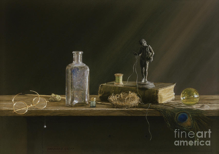 Still Life Painting - Just Common Things by Barbara Groff